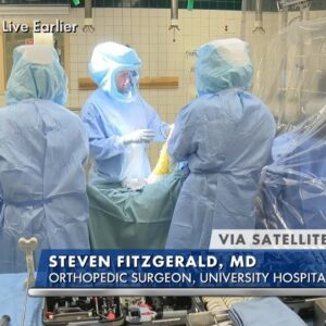 Watch LIVE Knee Replacement Surgery